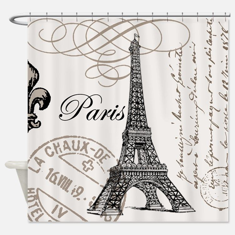 Marvelous Image Result For Paris Shower Curtain