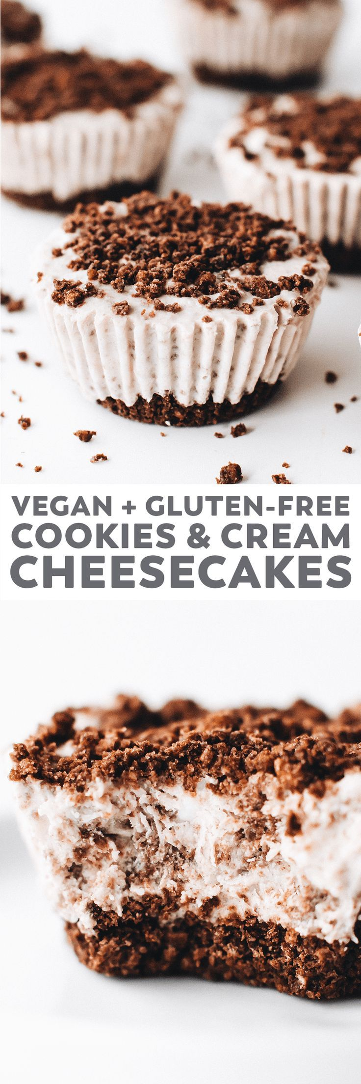No Bake Cookies And Cream Cheesecakes Recipe Dessert Recipes