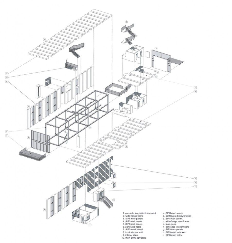 Cantilever House / Anderson Anderson Architecture | codename