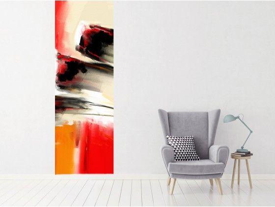 Papier peint abstrait peinture Vidal - repeindre du papier peint