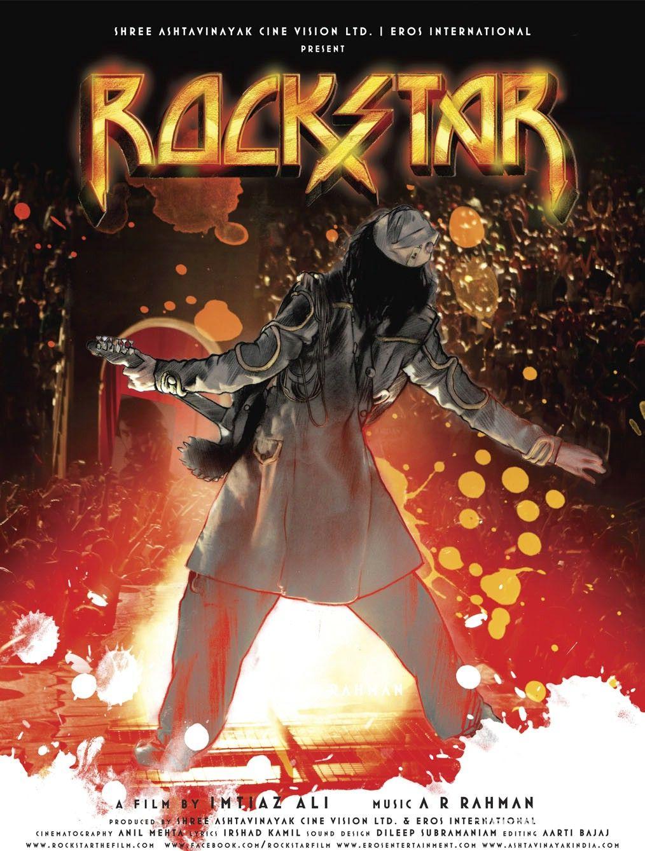 Rockstar bollywood movie poster (4) - Bollywood movies Tamil