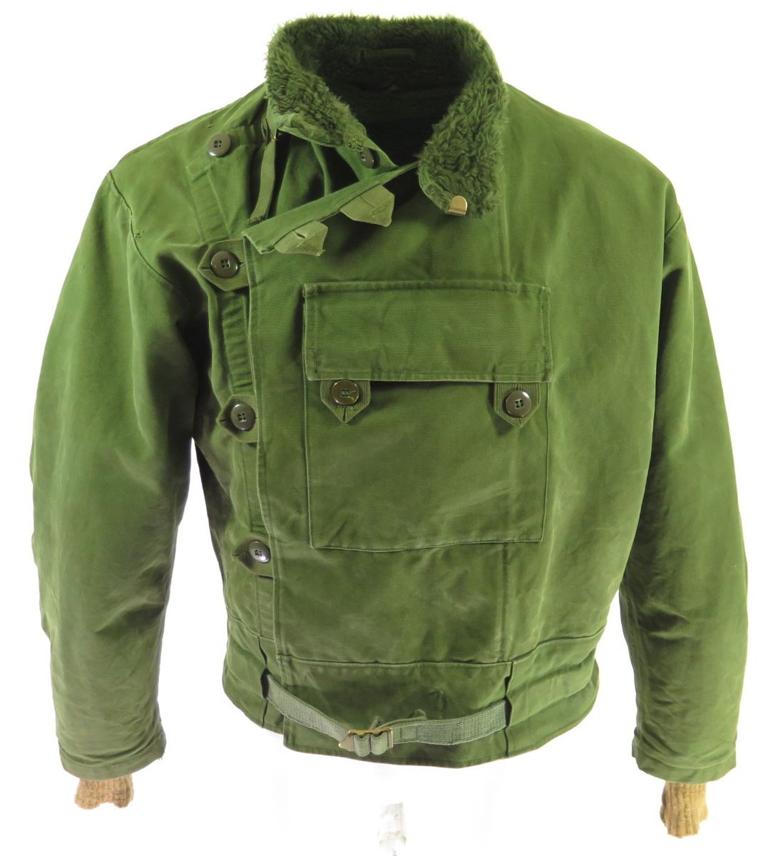 Details Made In Switzerland By Unknown Green Color No Fabric Tags Feels Like Heavy Duty Cotton Material Motorcycle Jacket Mens Army Motorcycle Swedish Army