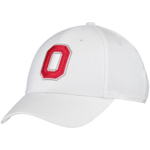 53dd92174530 Ohio State Buckeyes Nike Swoosh Flex Performance Hat - White - Fanatics.com