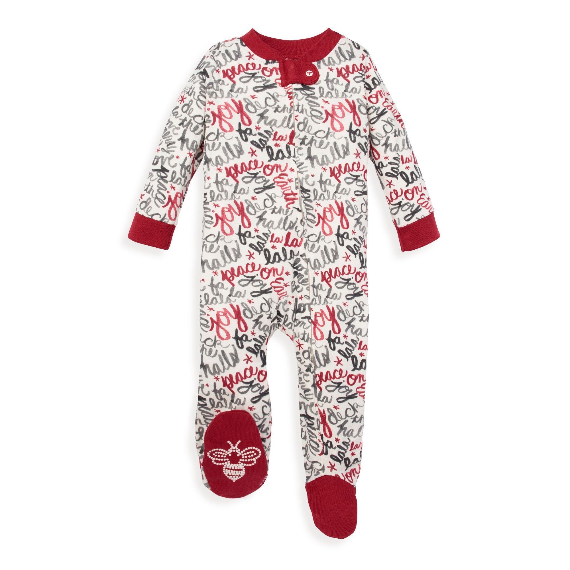 Family PJs Baby and Toddler One Piece Footed Unisex Holiday Pajamas