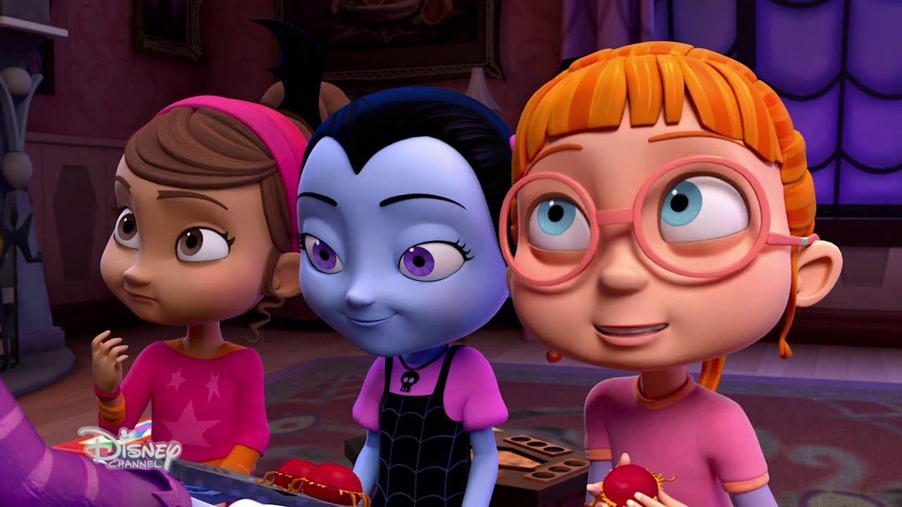 Vampirina Poppy And Bridget Disney Junior Disney Vampire Girls