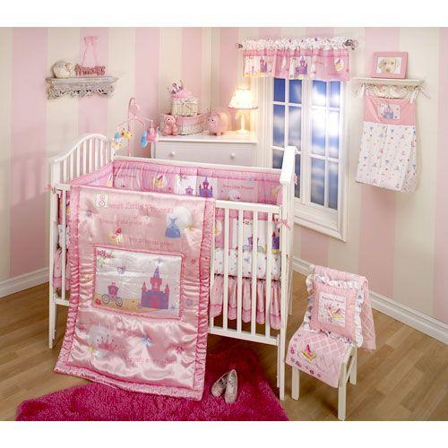 Walmart Disney Baby Little Princess Stories 4 Piece Crib Set