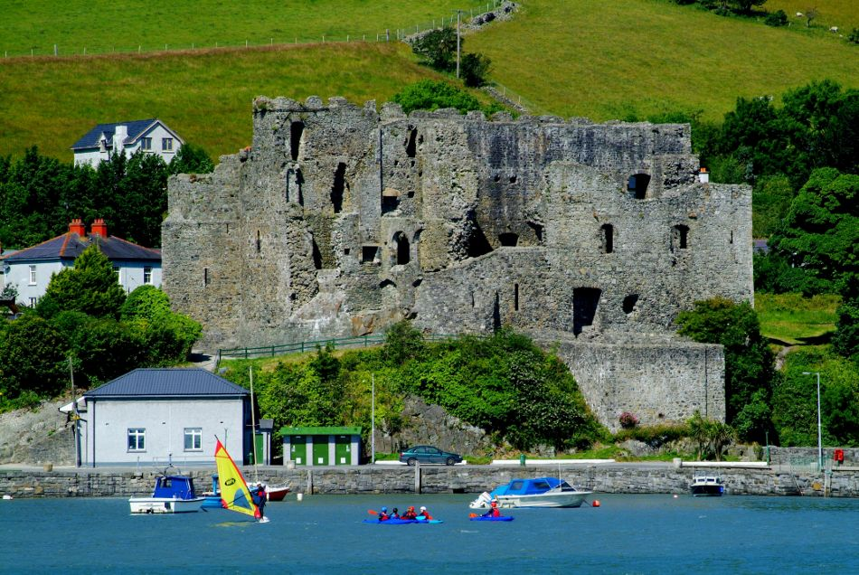 King John's Castle, Carlingford, County Louth, Ireland. Experience Ireland's history with http://www.tourireland.com/