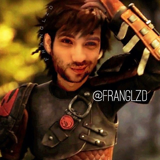 Oh my gosh!Jay as Hiccup