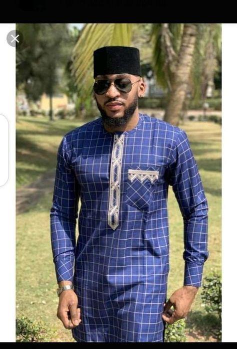 Vêtements pour hommes africains / tenue homme ankara/ chemise brodée/ chemise à manches courtes hommes africains/ vêtement africain/ haut et bas