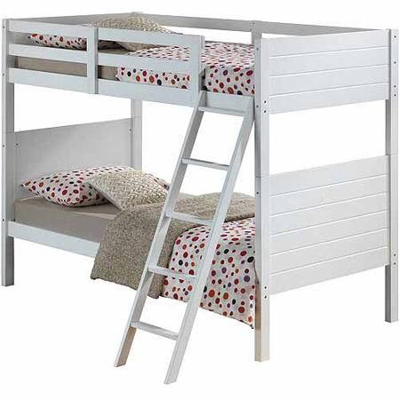 Broyhill Kids Palm Bay Twin Over Twin Bunk Bed White