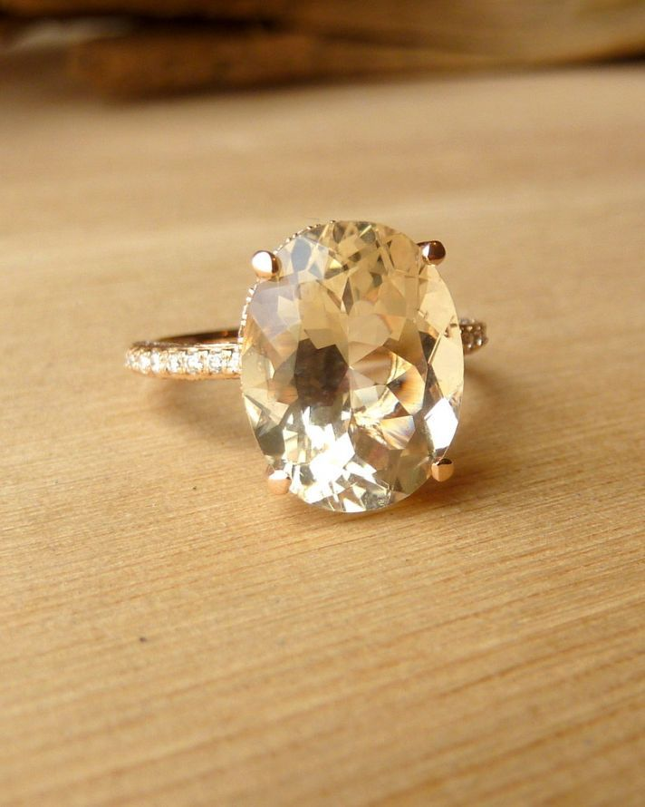 27 Non Diamond Engagement Rings That Sparkle Just As Bright