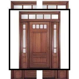 Photo of White Glazed Internal Doors | Wooden Door Price | 8 panel interior wood doors