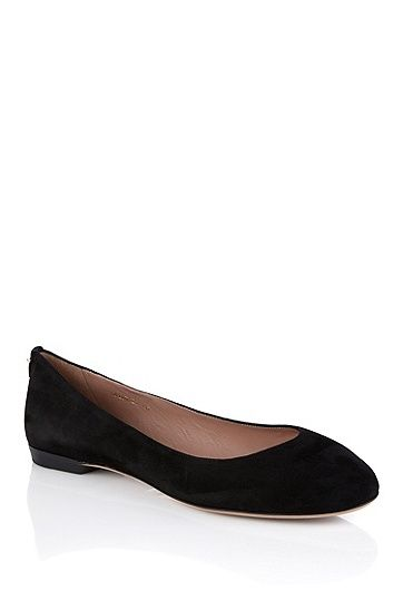 BOSS - Ballerinas aus Leder   Staple Ballerina-S    Schuhe   Shoes ... 6ca80b0924