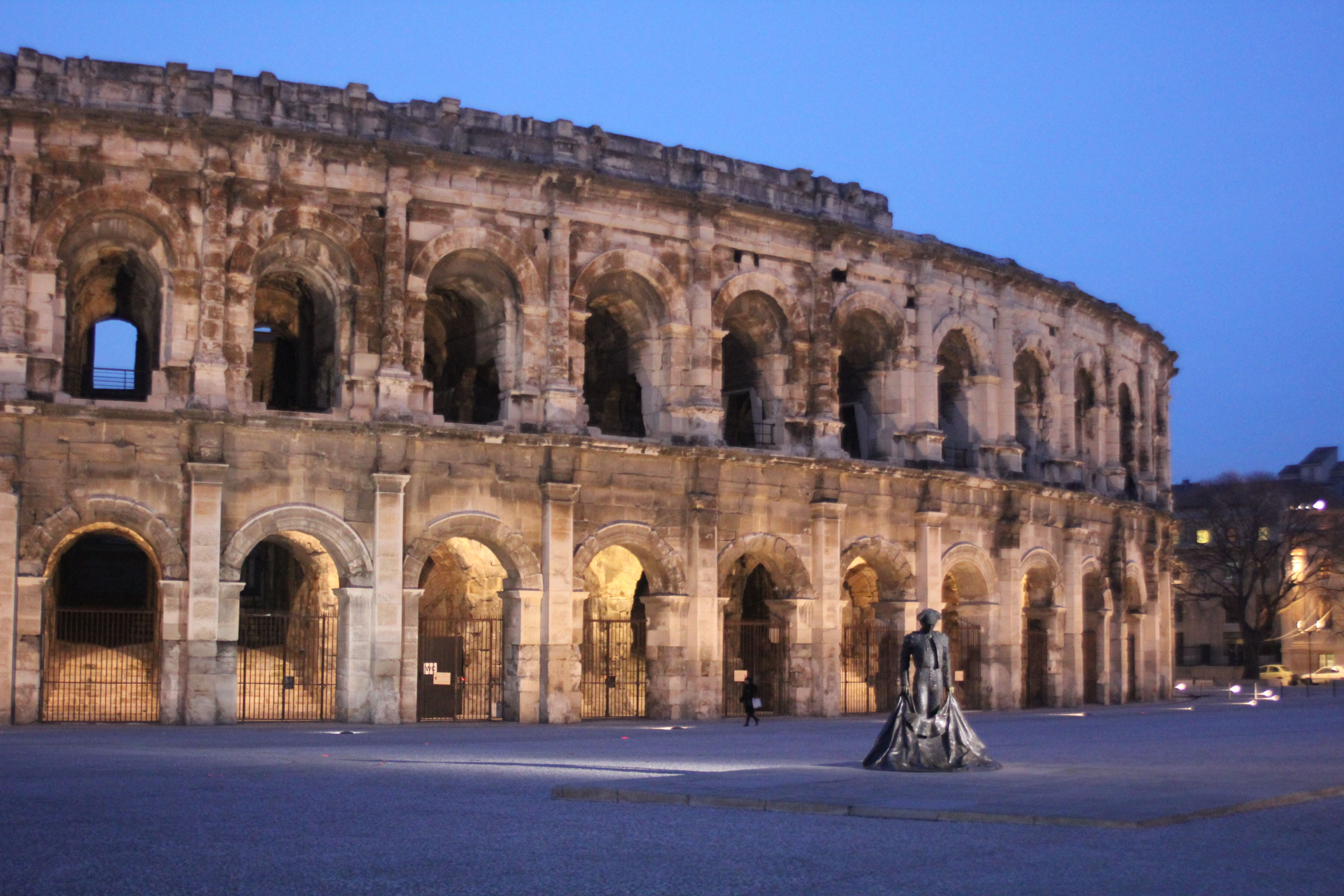 Arènes de Nîmes Monuments historiques, Arenes de nimes