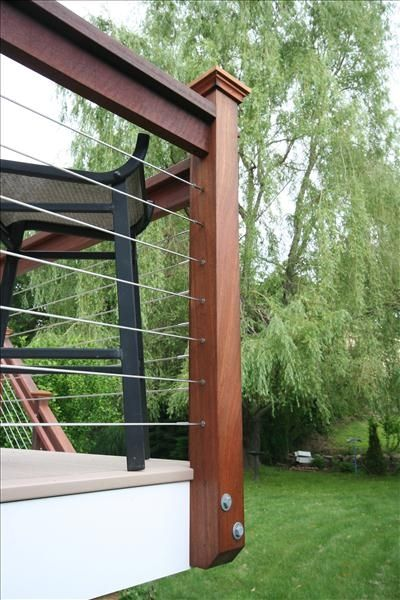 Cable Rail System For The Outdoors