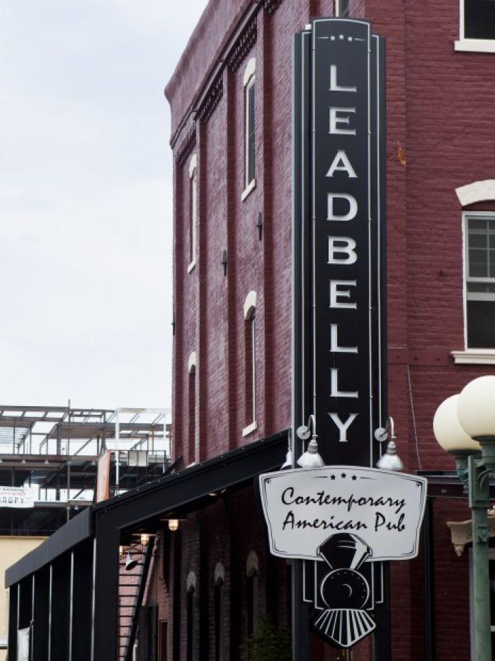 Leadbelly Nebraska Facade.