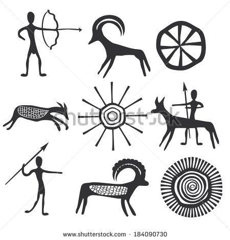 Petroglyphs Stock Photos Images Pictures Tribal Art Designs Petroglyphs Ancient Drawings