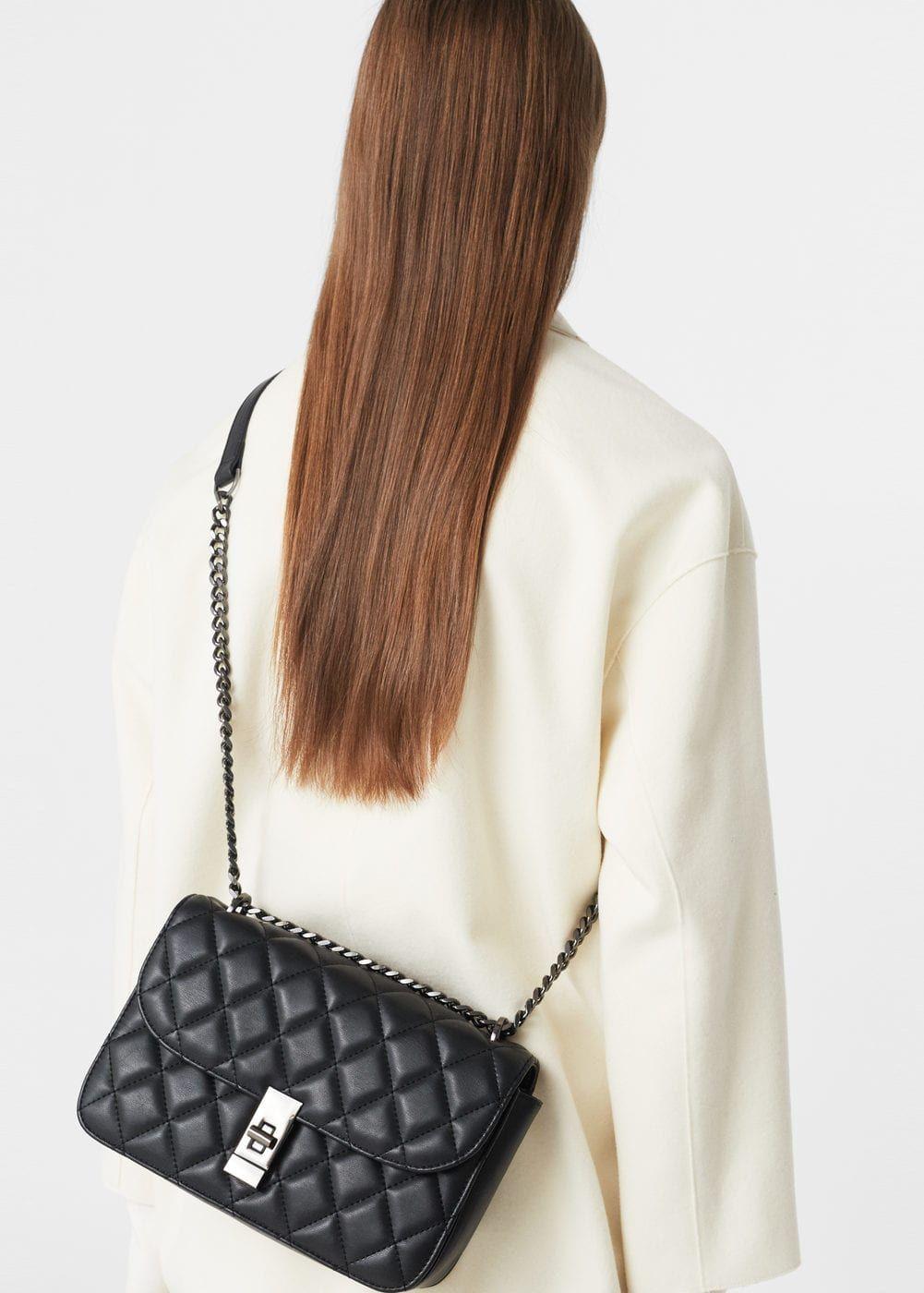 9b77823de3 Donna · Nuova Moda · Quilted chain bag | MANGO Mango, Borsa A Tracolla,  Tendenze, Come Vestirsi,