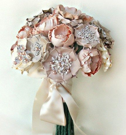 Fridays fab finds emici bridal spotlight silk flower bouquets luly blush silk flower bouquet made to order 6 weeks to ship mightylinksfo