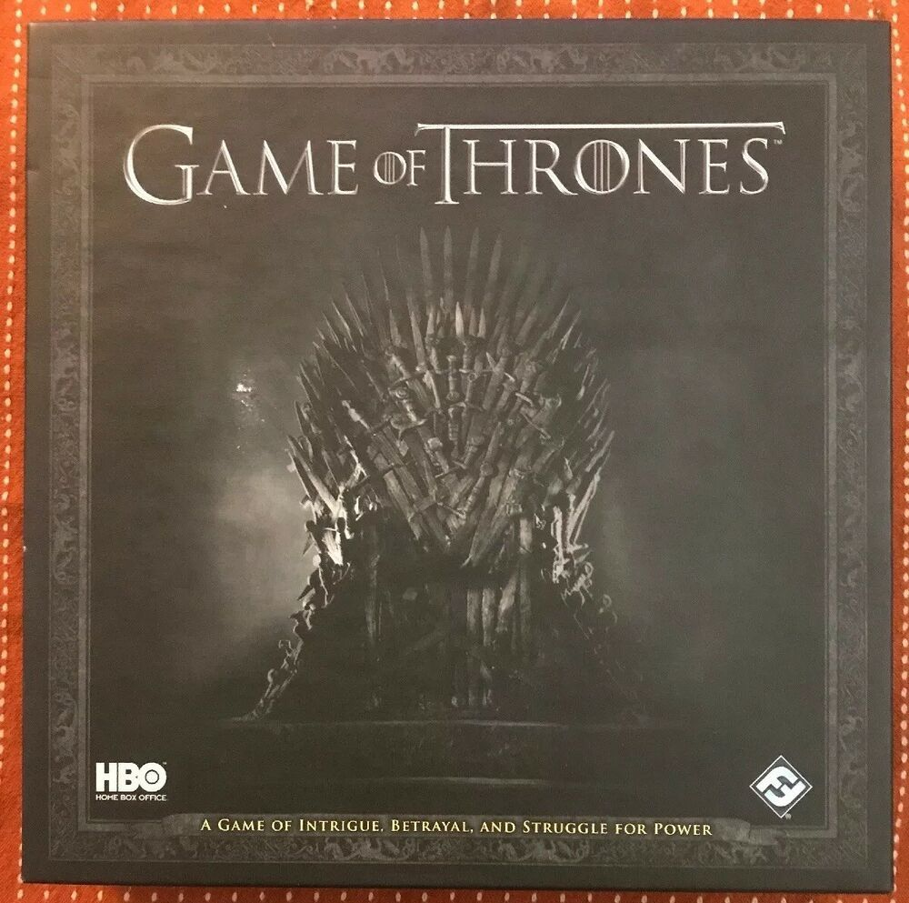 Game Of Thrones Hbo Winter Is Coming Card Board Game Fantasy Flight Games 9781616615222 Ebay Exploding Kittens Card Game Game Sales Hbo