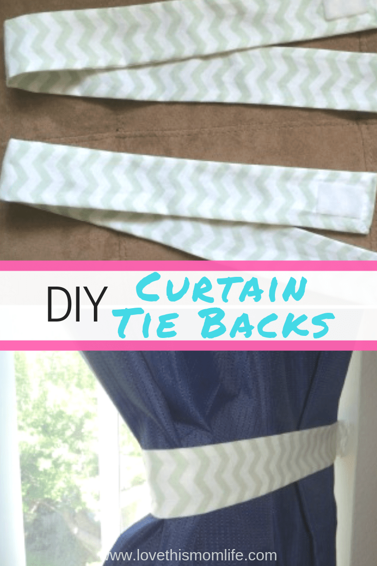 Diy Curtain Tie Backs A Simple Tutorial Curtains Diy Curtains