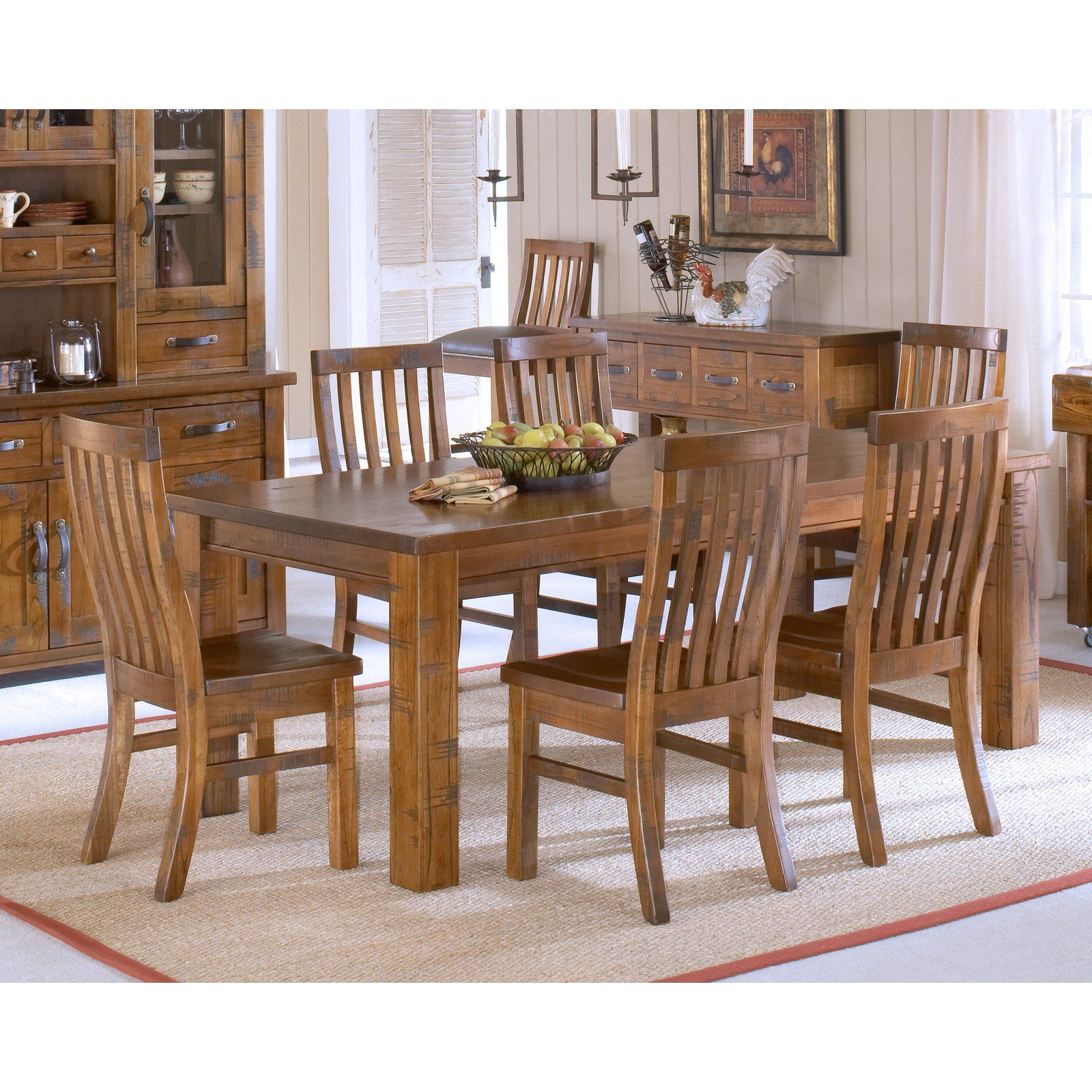 hillsdale outback 7 piece dining set from hayneedle