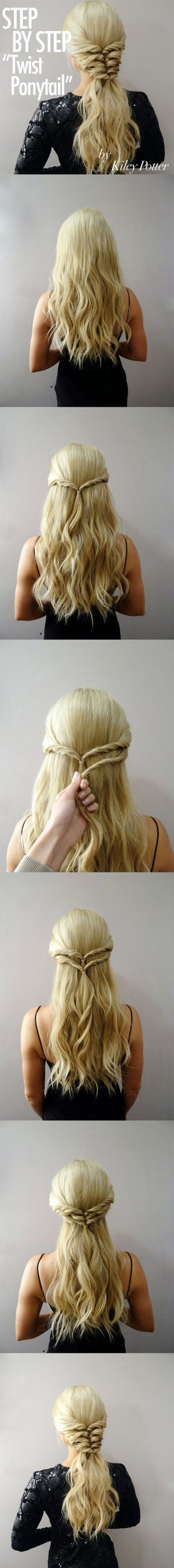 veryeasy hairstyles for verybusy mornings hair and beauty