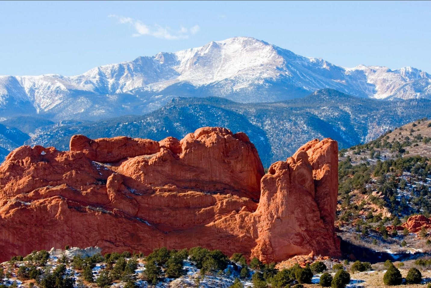 I25 drive itinerary one week road trip to colorado