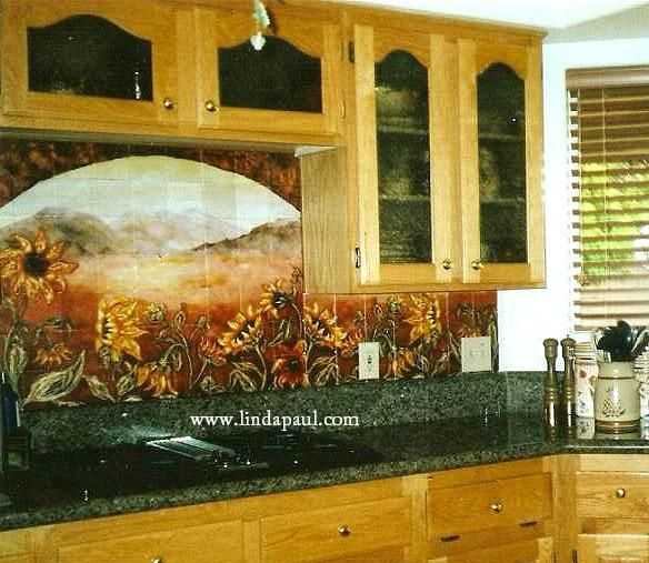 close to what my dream kitchen would look like with a sunflower