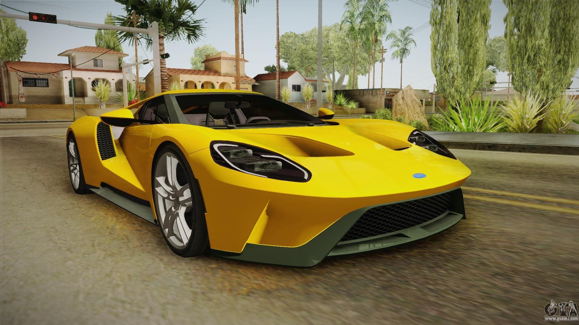 Vehiculos Para Gta San Andreas Ford Gt  Con Descarga Gratuita De Auto Instalador