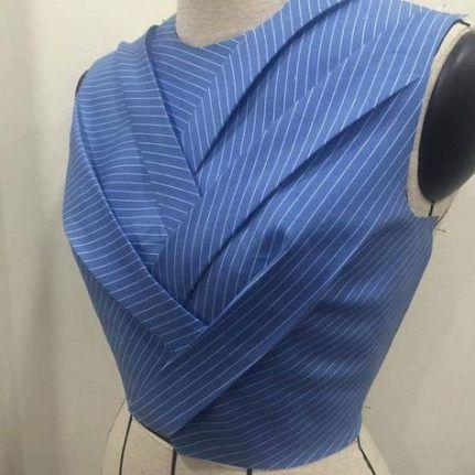 69 Ideas Origami Fashion Fabric Manipulation Tutorial #fabricmanipulation
