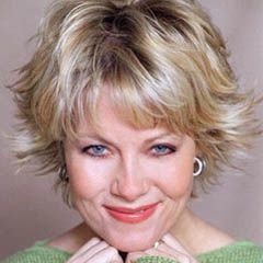 Cute Short Flippy Haircut With Blonde Hair Color For Women From Barbara Niven