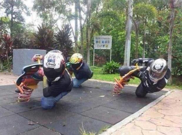 Motorcycle playground