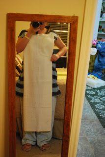 Zombie Mommie: DIY Bath Towel Apron