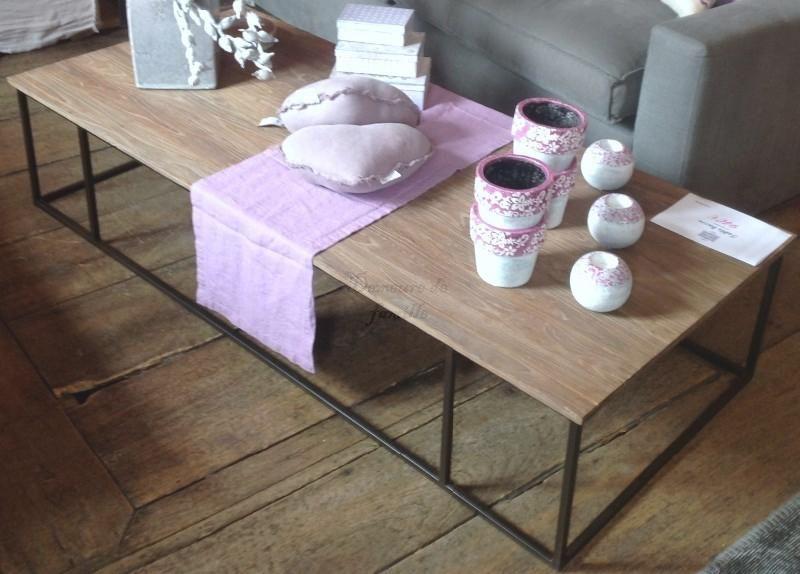 Table Basse Fer Forge Et Chene Vieilli Produit Tables Basses Meubles Lille Table Basse Fer Forge Table Basse Decoration Interieure