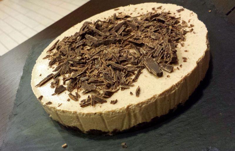 Cheesecake pere e cioccolato