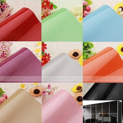Solid Color Self Adhesive PVC Contact Paper Shelf Liner