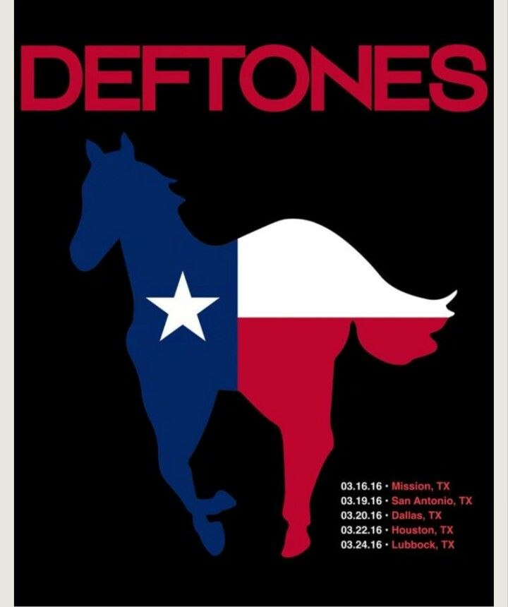 Texas Loves Deftones!!! Can't wait for March!