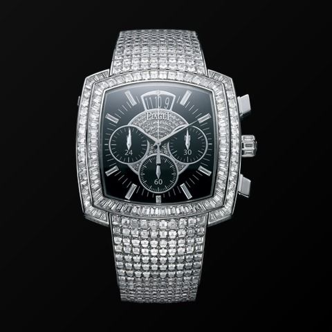 White gold Diamond Flyback chronograph Watch G0A33145 - Piaget