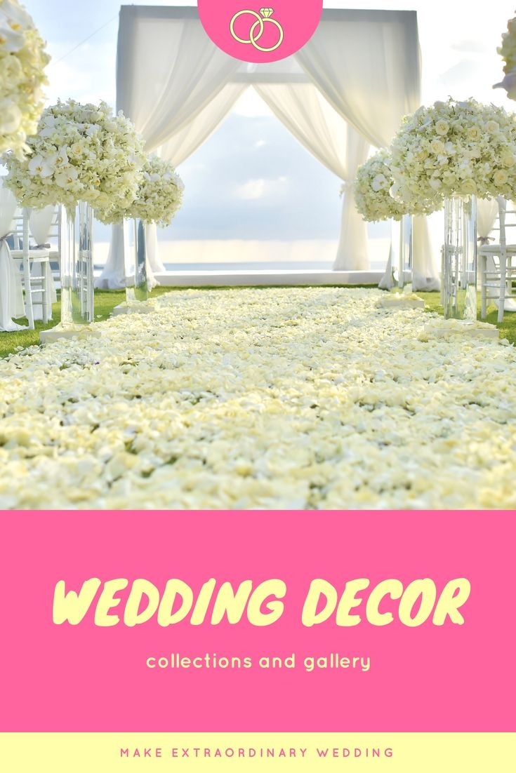 Latest wedding decoration images  Decorate A Personus Wedding Dinner With These Latest Cheap Wedding