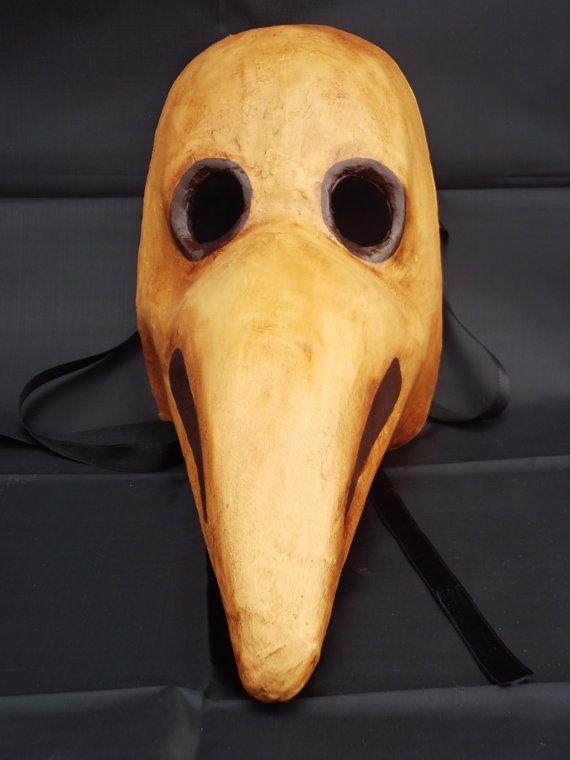 steampunk Plague mask plague doctor mask historic by tragicomic, €40.00