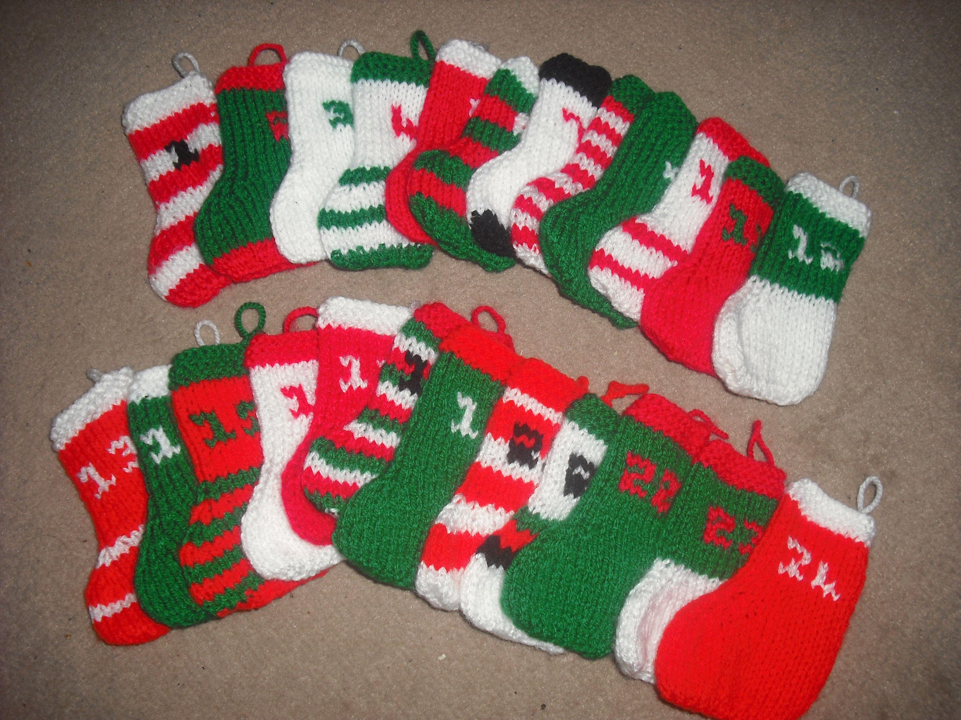 Advent Calendar Handmade Knitting : Knitted advent calendar my crafts pinterest