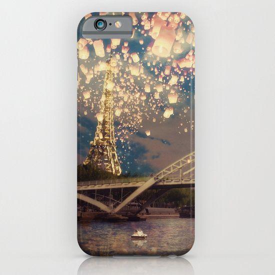 Love Wish Lanterns over Paris phone cases. by Paula Belle Flores #paris #iphone6 #iphonecases