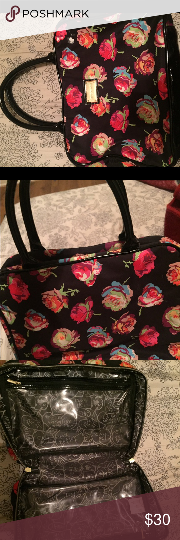 Betsey Johnson makeup bag (With images) Betsey johnson