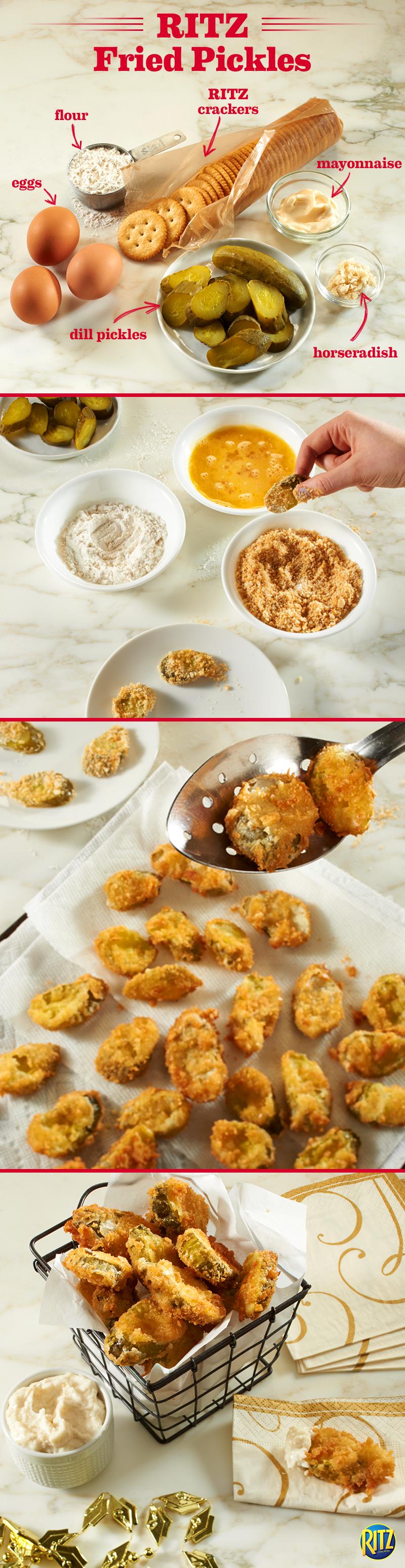 RITZ Fried Pickles Recipe Recipe Recipes, Cooking