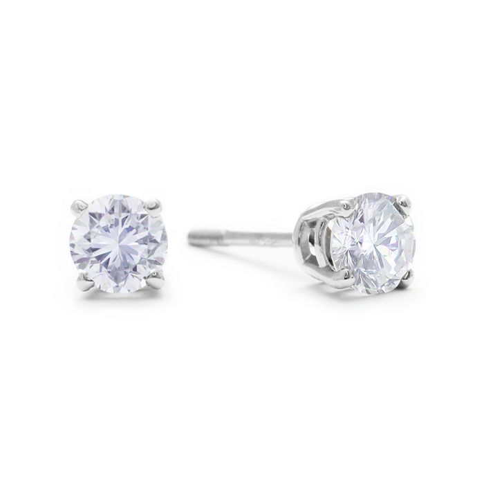 white carat stud gold studs earrings details cut h excellent diamond basket in prong cfm