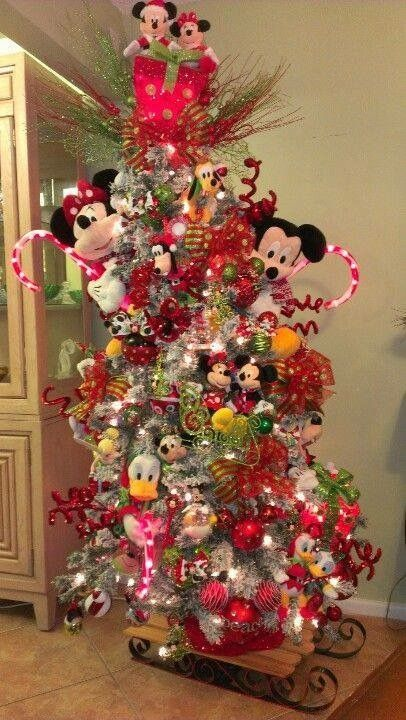 mickey mouse tree - Christmas Tree Decorations Mickey Mouse