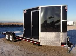 Image Result For Hybrid Enclosed Open Deck Trailer Alternative Fuel Toy Hauler Trailers
