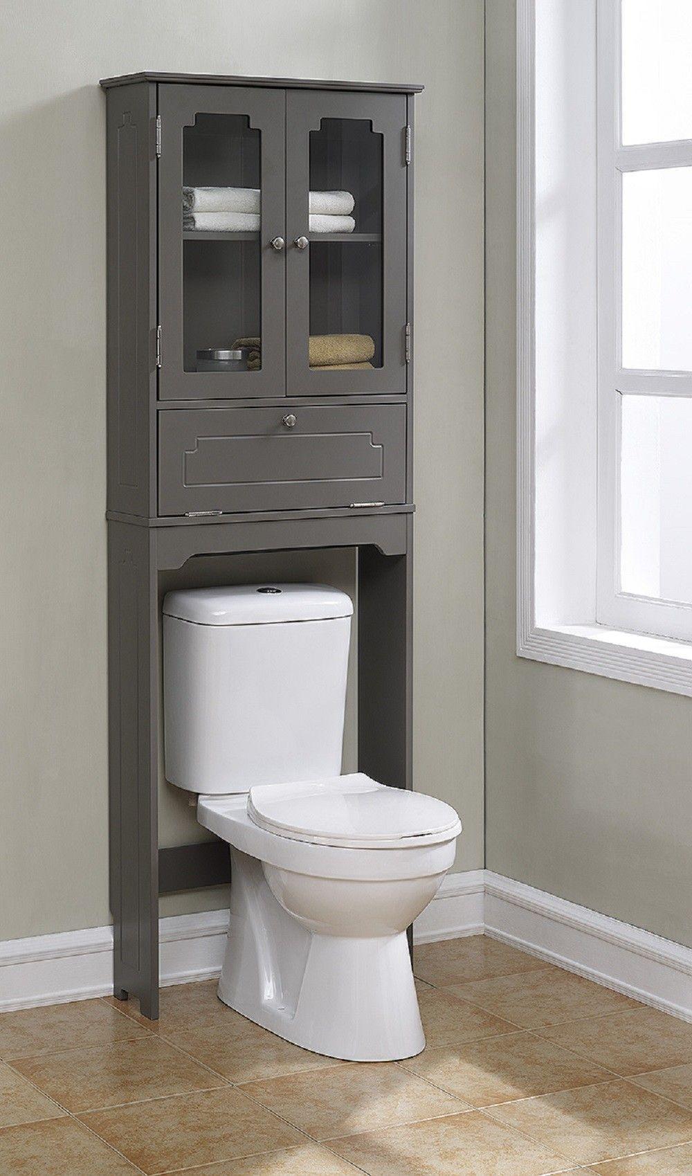 Features Elegant Etagere With 2 Glass Doors 1 Adjustable Shelf