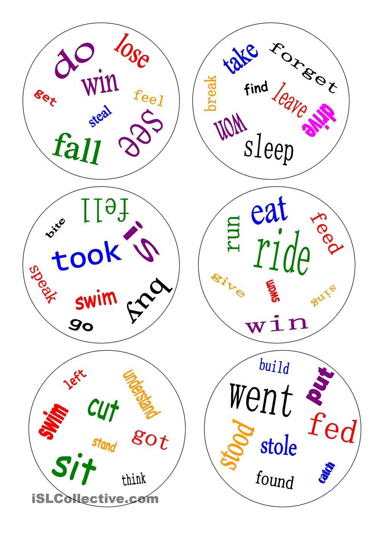 5 Alphabet Worksheets Videos Esl Dobble Irregular Verbs A Game Irregular Verbs Grammar Games Verb Worksheets [ 1440 x 1018 Pixel ]